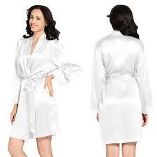 robe de chambre en soie femme lilysilk peignoir femme soie blanc achat vente peignoir cdiscount