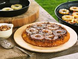 recipe to grill a pineapple upside down cake grilling with rich