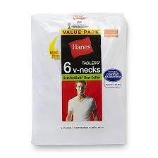 Hanes Our Most Comfortable Hanes Men U0027s T Shirts 6 Pk Comfortsoft V Neck Tagless