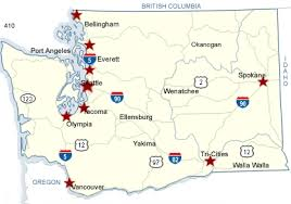 map of oregon freeways wsdot washington state highways closed to bicycles