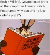 Wile E Coyote Meme - bruh if willie e funny memes daily lol pics