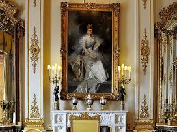 drawing room colour games buckingham palace white drawing room painting of queen alexandra