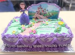 sofia cakes sofia the cake with figurine cakes and memories