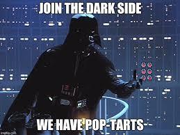 Side By Side Meme Generator - darth vader come to the dark side meme generator imgflip