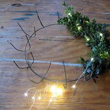 led silver light string floral supplies afloral