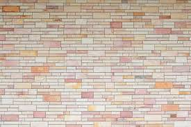 exterior new brick wall textured wall background stock photo