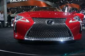 lexus lc 500 tail lights all new 2017 lexus lc 500 debut myautoworld com