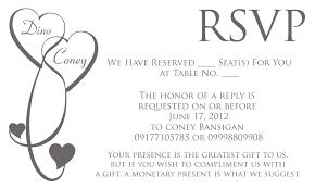 Sample Rsvp Cards Wedding Invitation Rsvp Wording Wedding Invitations Wedding