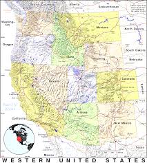 Western United States Map Map Of Usa And Canada With Cities Adorable Map Of Western Canada