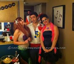 Ariel Costume Halloween 44 Halloween Group Costumes Images Group