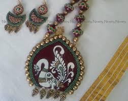 terracotta jewellery etsy