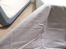 How To Fold A Fitted Bed Sheet No Sew Bedskirt Tutorial Mind Blowingly Simple Designer Trapped