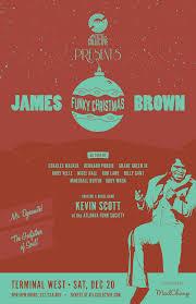 brown christmas poster brown s funky christmas atl collective
