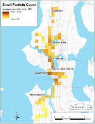 Seattle Map Downtown by Clean Air Agency Expands Picture Of Seattle Air Quality Using
