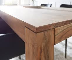 esstisch holz esstisch akazie stone 180x90 cm massivholz mit maserung