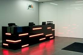 Modern Led Desk L Grey Ceramic Floor With White Wall And Unique Modern Led Desk For