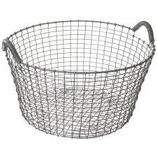 stainless steel baskets stainless steel basket mscdirect