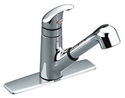 Single Handle Moen Kitchen Faucet Moen Pull Out Kitchen Faucet Home Design Ideas And Pictures