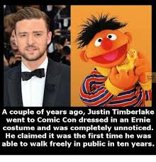 Justin Timberlake Meme - eagte a couple of years ago justin timberlake went to cornic con
