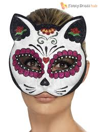 day of the dead masks mexican day of the dead masks fancy dress costume