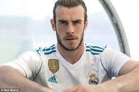 what is gareth bale hair called real madrid home and away kits for 2017 18 daily mail online
