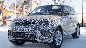 land rover sport 2018 range rover sport plug in hybrid spied with different design