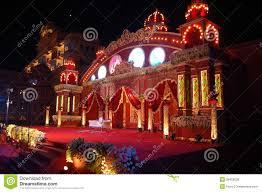 indian wedding stage mandap royalty free stock images image