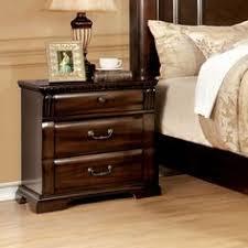 velda english style warm cherry finish nightstand cherries