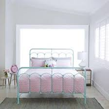 Metal Bed Frames Australia Size White Metal Platform Bed Frame With Headboard And