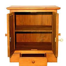 Wooden Cabinet With Glass Doors Wooden Shelves With Doors Lamdepda Info