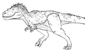 coloriages à imprimer animaux dinosaures t rex page 2