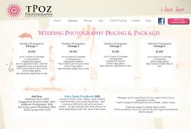 wedding photography prices wedding package captivating basic wedding photography packages
