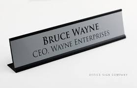 Desk Signs For Office Engraved Door Signs Engraved Desk Signs