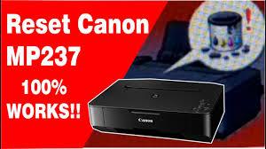 reset software canon mp 237 reset canon mp237 how to fix canon mp237 error 5b00 youtube