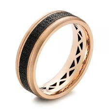 seattle wedding band 12 best carbon fiber men s wedding rings images on