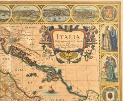 Map Of Florence Italy Lot 233 J Speed 1626 Map Of Italy Plus Swiss Map