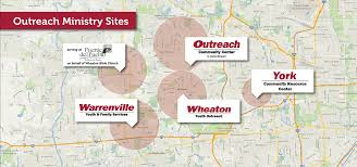Dupage County Map Sites U2013 Outreach Community Ministries