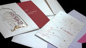 cartier invitation cards style mixer
