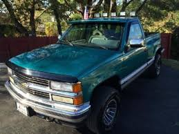 purchase used 1994 chevy silverado 1500 z71 gmt 400 teal roof