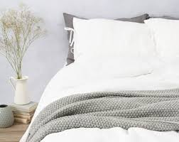 linen duvet cover stonewashed softened woodrose colour