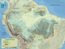 Map Of The Amazon River Whitewater Rivers Amazon Waters