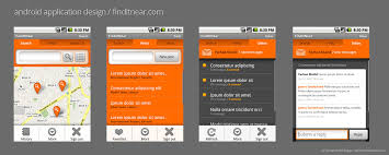 android app design android application design i by freshfarhan on deviantart