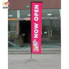 Beach Flag Pole Beach Flag Pole Teardrop Feather Wholesale Promotion Advertising