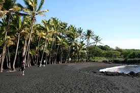 Black Sand Beaches by File Punaluu Black Sand Beach Hawaii Usa7 Jpg Wikimedia Commons