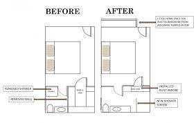Floor Plans For Bedroom With Ensuite Bathroom Lyndie U0027s Ensuite Bathroom Makeover