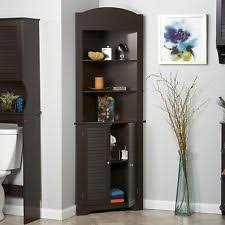 Tall Storage Cabinet With Doors And Shelves by Corner Storage Cabinet Ebay