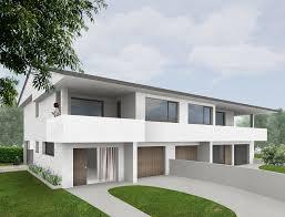 three houses one three houses panza architetto