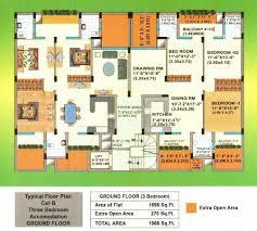 floor plan palm court palm court zirakpur punjab residential