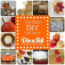 Fall Homemade Decorations - the best diy fall decorations pin n tell
