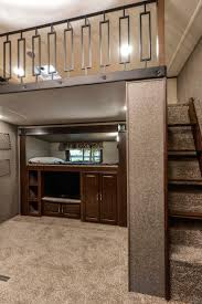heartland creates bunkroom loft in new gateway rv business